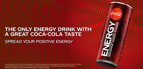 Coca-Cola Energy RTD 12 x 250ml