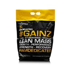 #Gainz von Dedicated Nutrition. Jetzt bestellen!