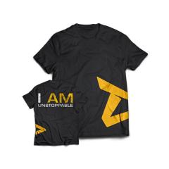 "Dedicated T-Shirt ""Unstoppable"". Jetzt bestellen!"