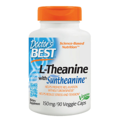 Doctor's Best L-theanine mit Suntheanine 150 mg. Jetzt bestellen!