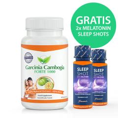 Garcinia Cambogia Forte 1000 mg + 2x Melatonin Sleep Shot 60 ml GRATIS
