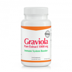 Graviola Pure Extract 1000 mg - Immune System Booster
