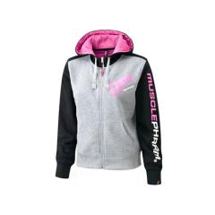 Frauen Kapuzenpullover mit Reißverschluss von MusclePharm Sportswear. Jetzt bestellen!
