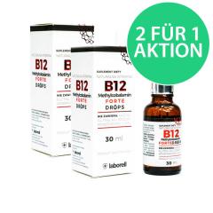 Vitamin B12 Forte 30 ml Tropfen (2 FÜR 1)